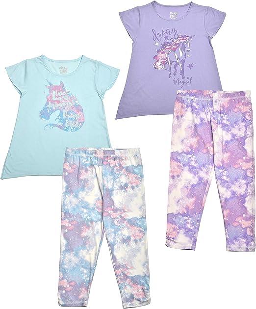 extremely me Size: 14//16 No Prob llama Girl/'s 2-Piece Pajama Set