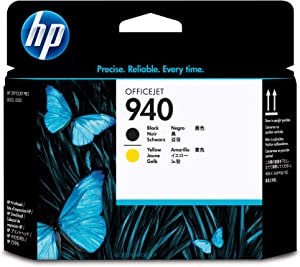HP 940 | Ink Printhead | Black & Yellow | C4900A