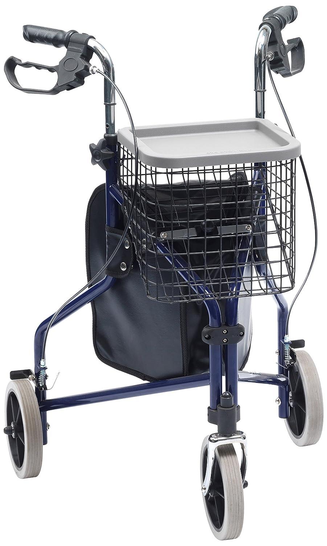 Drive Medical - Andador triciclo (con mochila, cesta y ...