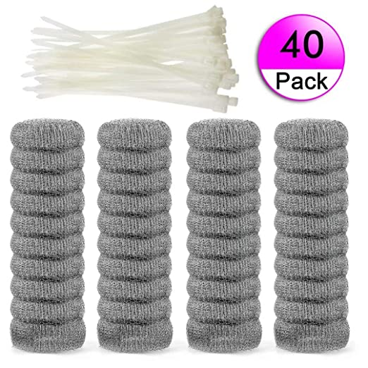 Amazon.com: Trampas para pelusas de acero inoxidable (nunca ...
