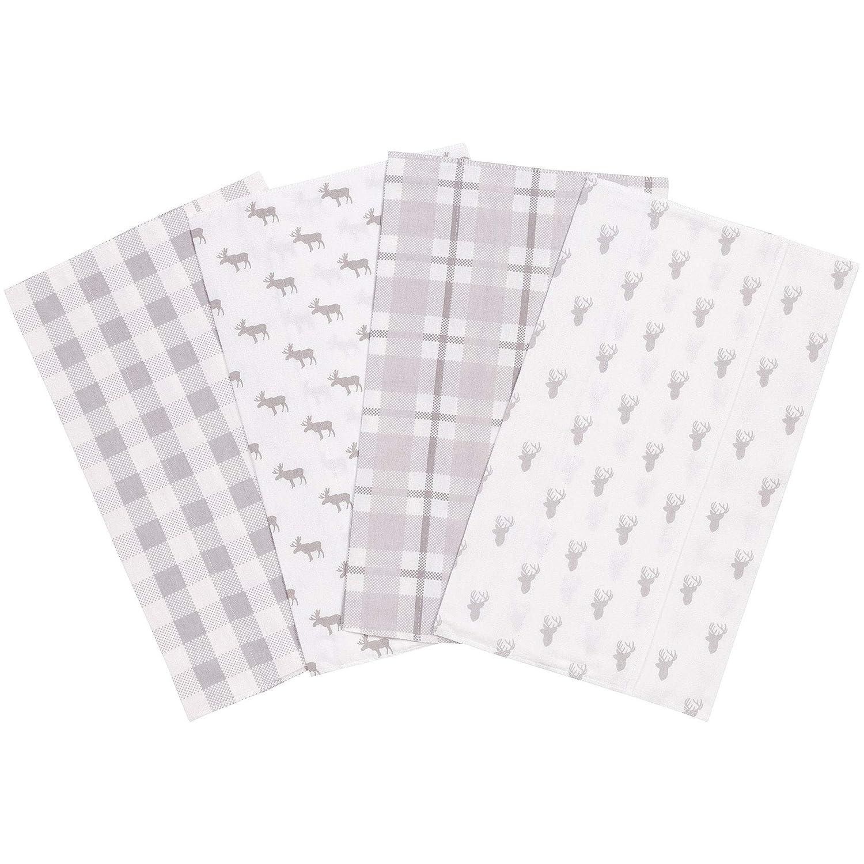 Flannel waterproof shoulder burps