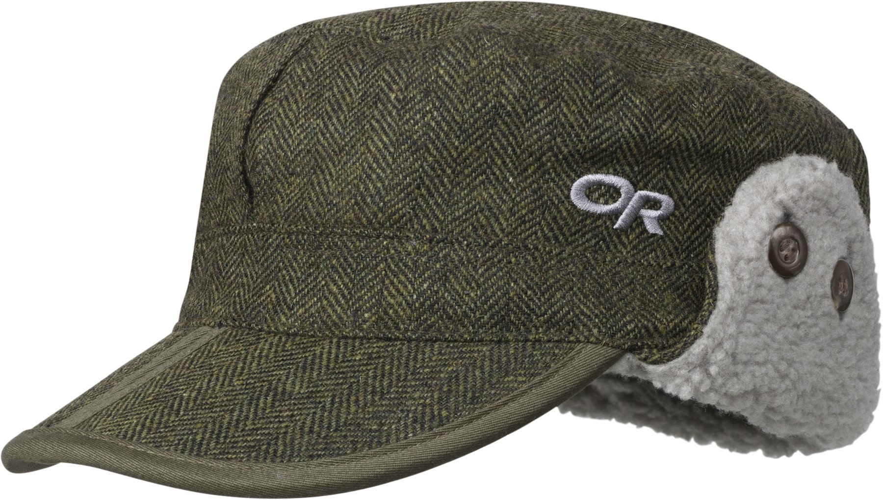 Outdoor Research Yukon Cap, Peat Herringbone, X-Large