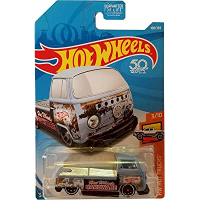 Hot Wheels 2020 50th Anniversary HW Hot Trucks Volkswagen T2 Pickup 108/365, Light Blue: Toys & Games [5Bkhe0502545]