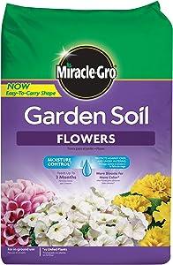 Miracle-Gro 70359430 1.5Cf Flower Garden Soil, 1.5-CF
