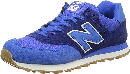 New Balance 574 Vintage, Zapatillas para Hombre, Azul (Blue), 46.5 EU: Amazon.es: Zapatos y complementos