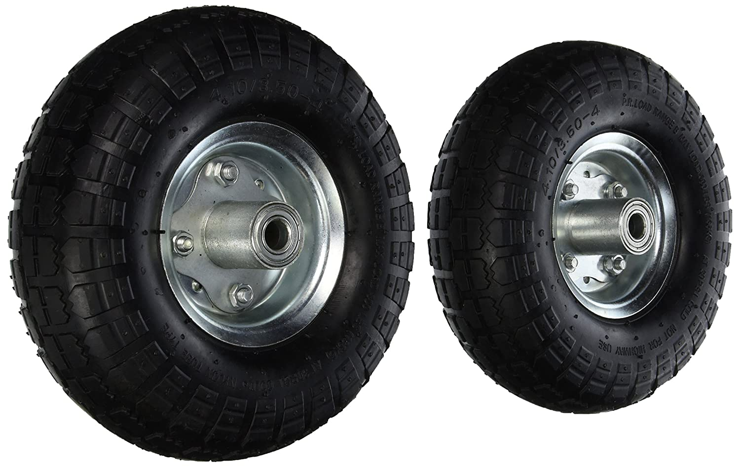 Pit Bull CHIT00122 NEW 10' AIR Tires Wheels 5/8'