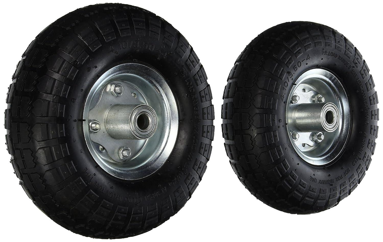 2 New 10 Air Tires Wheels 5 8 Home Garden Lawn Garden
