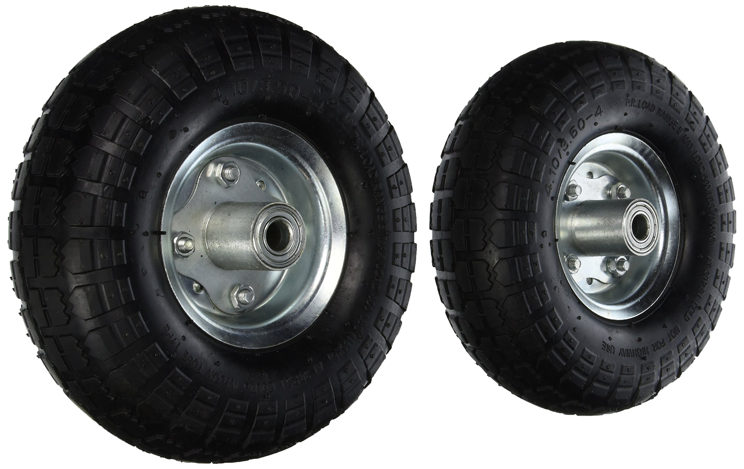 Pit Bull CHIT00122 NEW 10'' AIR Tires Wheels 5/8'' by Pit Bull (Image #1)