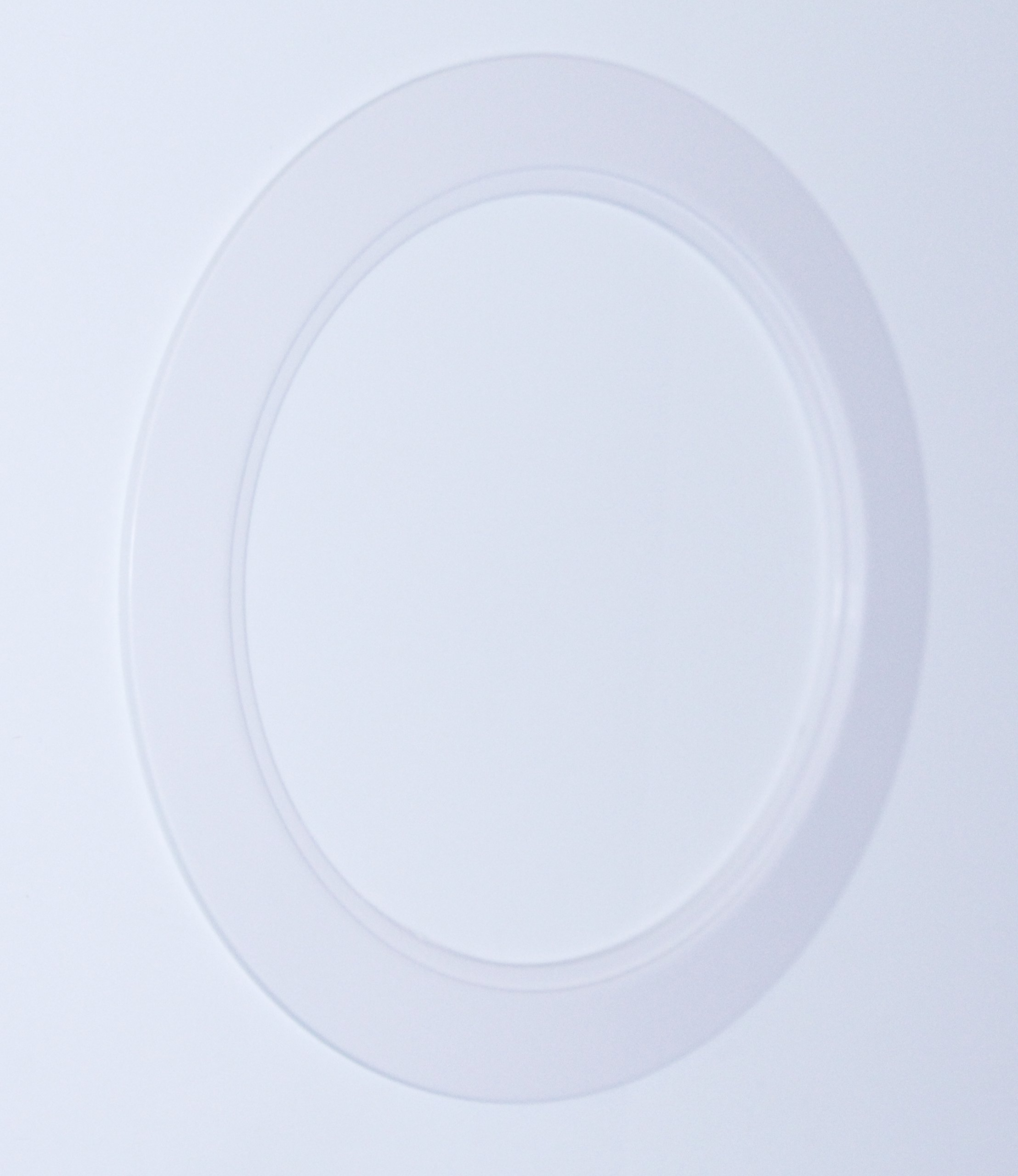 10 Pack-White Light Trim Ring Recessed Can 6'' Inch Over Size Oversized Lighting Fixture