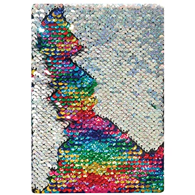 Charm Company Mermaid Sequin Rainbow Notebook: Toys & Games