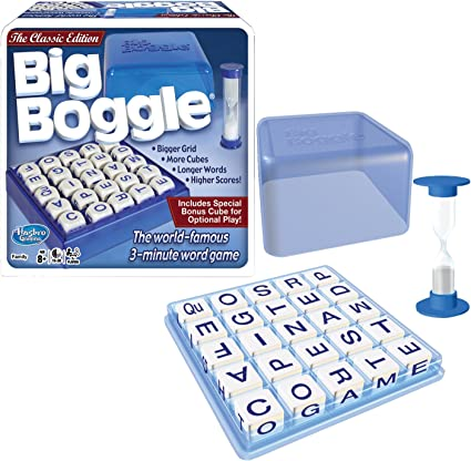 Amazon.com: Winning Moves Games Big Boggle, The Classic Edition ...