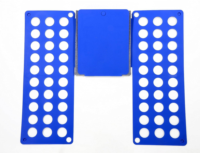 Fast Adjustable T-shirts Organizador Carpeta Voguecase Plegable Ropa Junta Azul