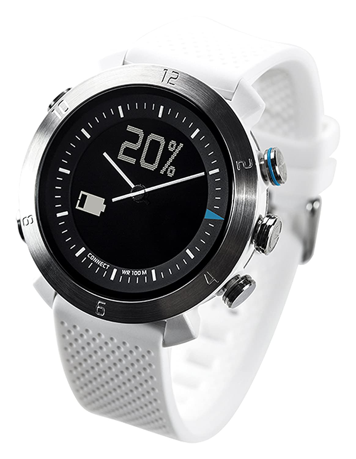 Cogito CW2.0-003-01 - Smartwatch (iOS 7.0/Android 4.3), Blanco