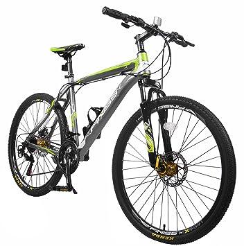 Merax Finiss 26 Aluminum 21 Speed Mountain Bike With