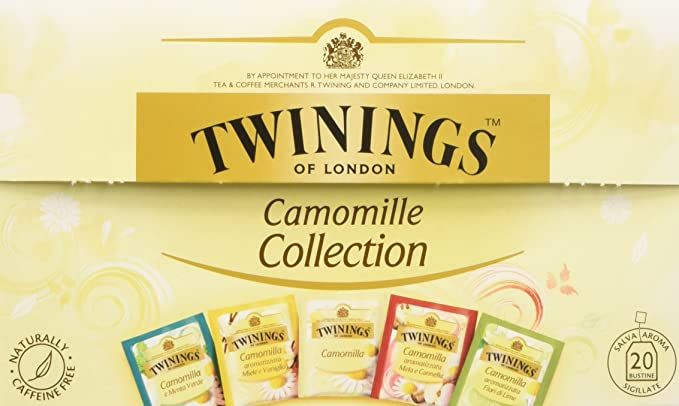 8 opinioni per CAMOMILLE COLLECTION 5 GUSTI 20 BUSTINE TWININGS