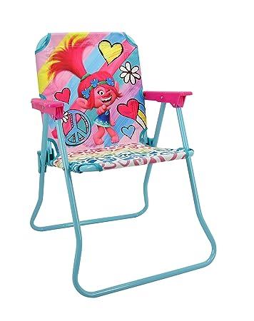Wondrous Trolls Patio Chair For Kids Portable Folding Lawn Chair Short Links Chair Design For Home Short Linksinfo