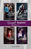 Romantic Suspense Box Set 1-4 June 2020/Hunting the Colton Fugitive/Colton's Last Stand/Dangerous Reunion/Shielded in the Shadows (The Coltons of Mustang Valley)