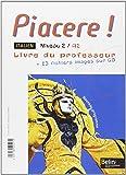 Piacere 2e annee lv2 pack professeur
