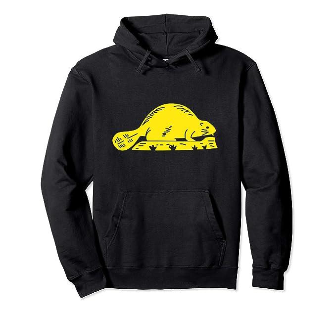 bf28320a Amazon.com: Oregon State Flag Hoodie - Beaver Hooded Sweatshirt ...