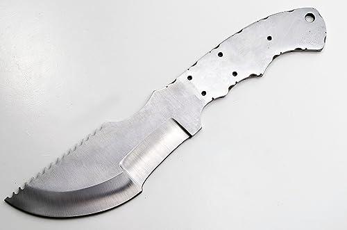 Whole Earth Supply Tracker D-2 Steel Knife Making Blank Blade Hunting Skinning Skinner D2 Knives