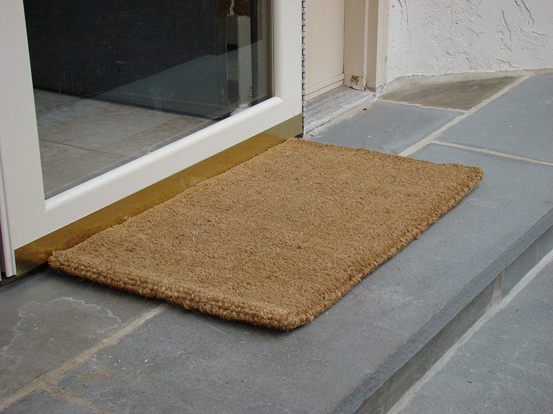 Amazon.com : Kempf Natural Coco Coir Doormat, 18 by 30 by 1-Inch ...