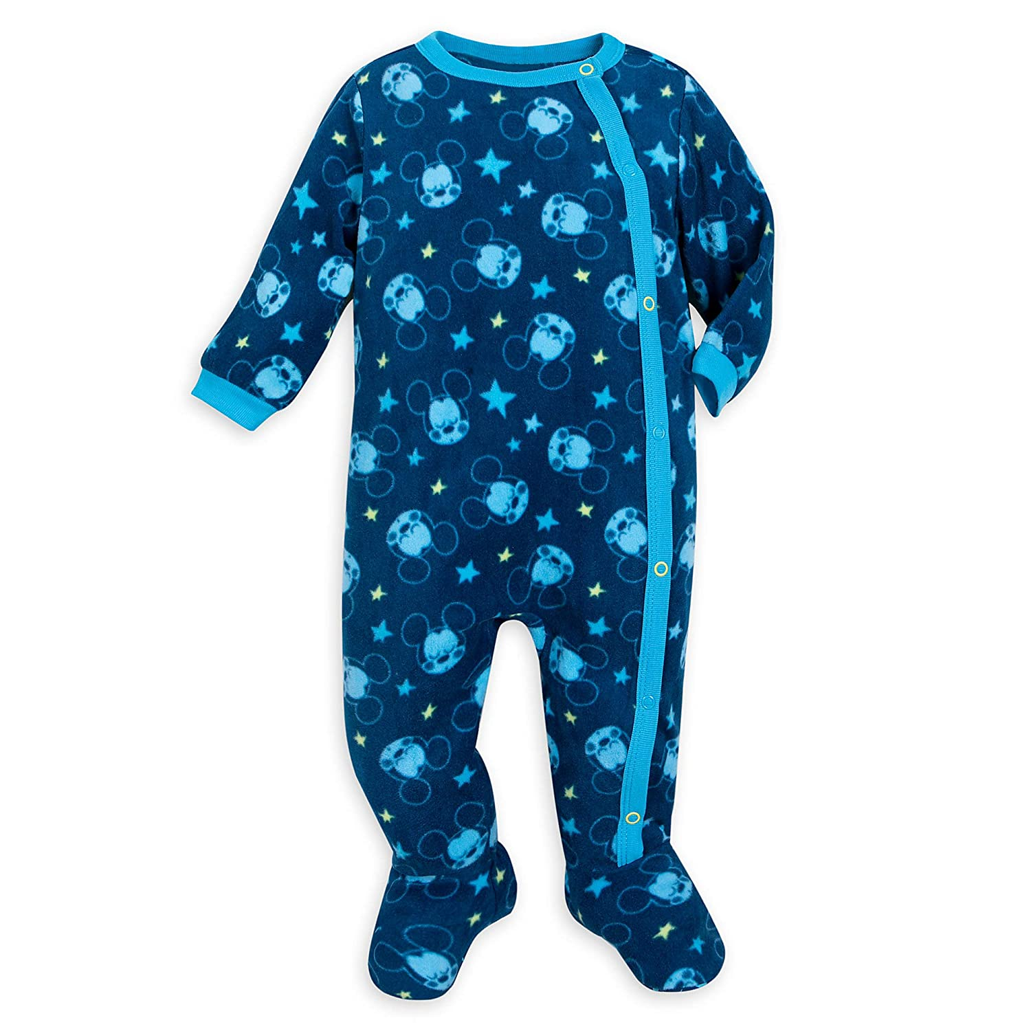 Disney Mickey Mouse Stretchie Sleeper for Baby Size 12-18 Months