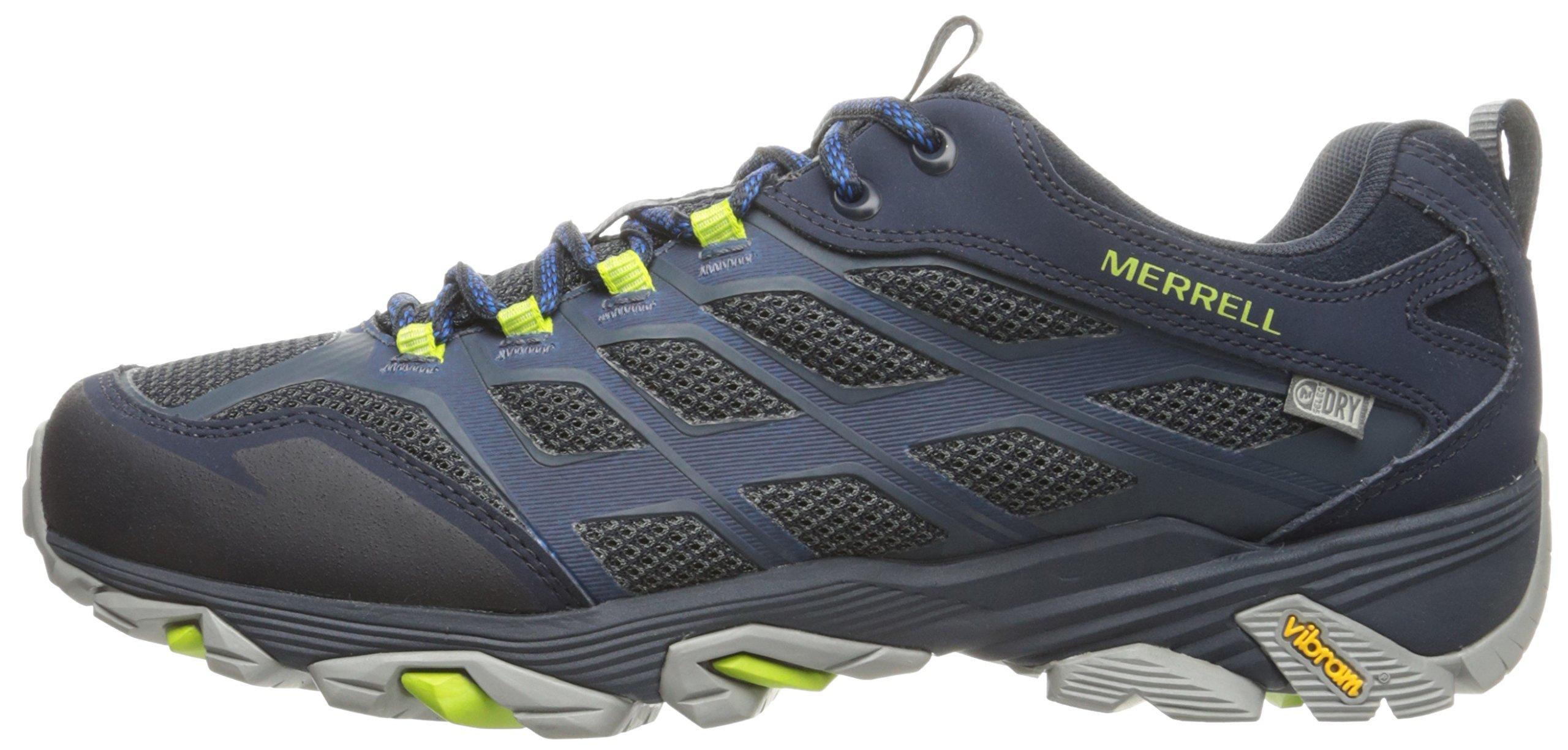 Merrell Men's Moab FST Waterproof Hiking Shoe, Navy, 8 M US by Merrell (Image #5)