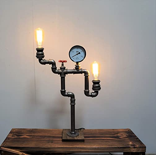 Amazon Com Industrial Table Lamp Industrial Desk Lamp Table Lamp