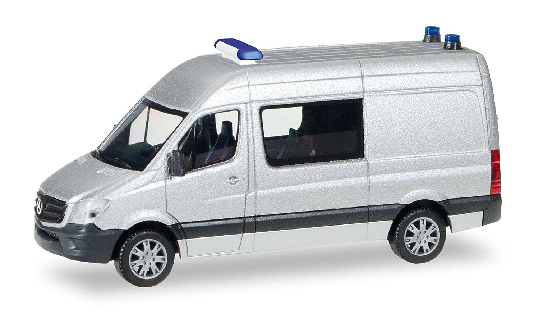 Mercedes Bus Van >> Amazon Com Herpa 12959 Mercedes Benz Sprinter Semi Bus Mini Kit