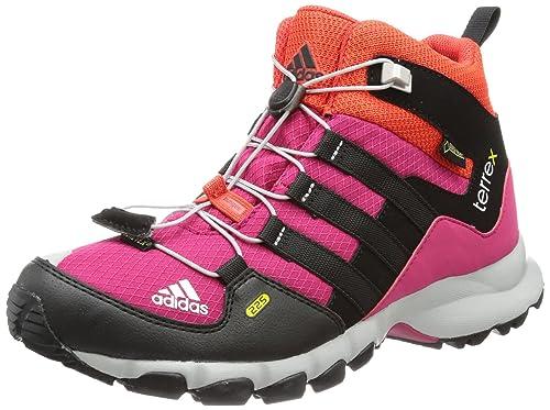 promo code 49e95 988fb adidas Performance TERREX MID GTX K, Scarpe da escursionismo e trekking  unisex bambino, Rosa