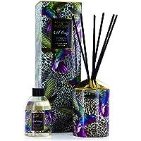 Ashleigh & Burwood WTDIF002 Leopard (Black Raspberry) Wild Things Reed Diffuser, 200ml