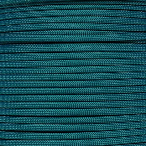 USA Made Teal 550 Paracord Type III 7 Strand Parachute Cord 10 25 50 100 Feet