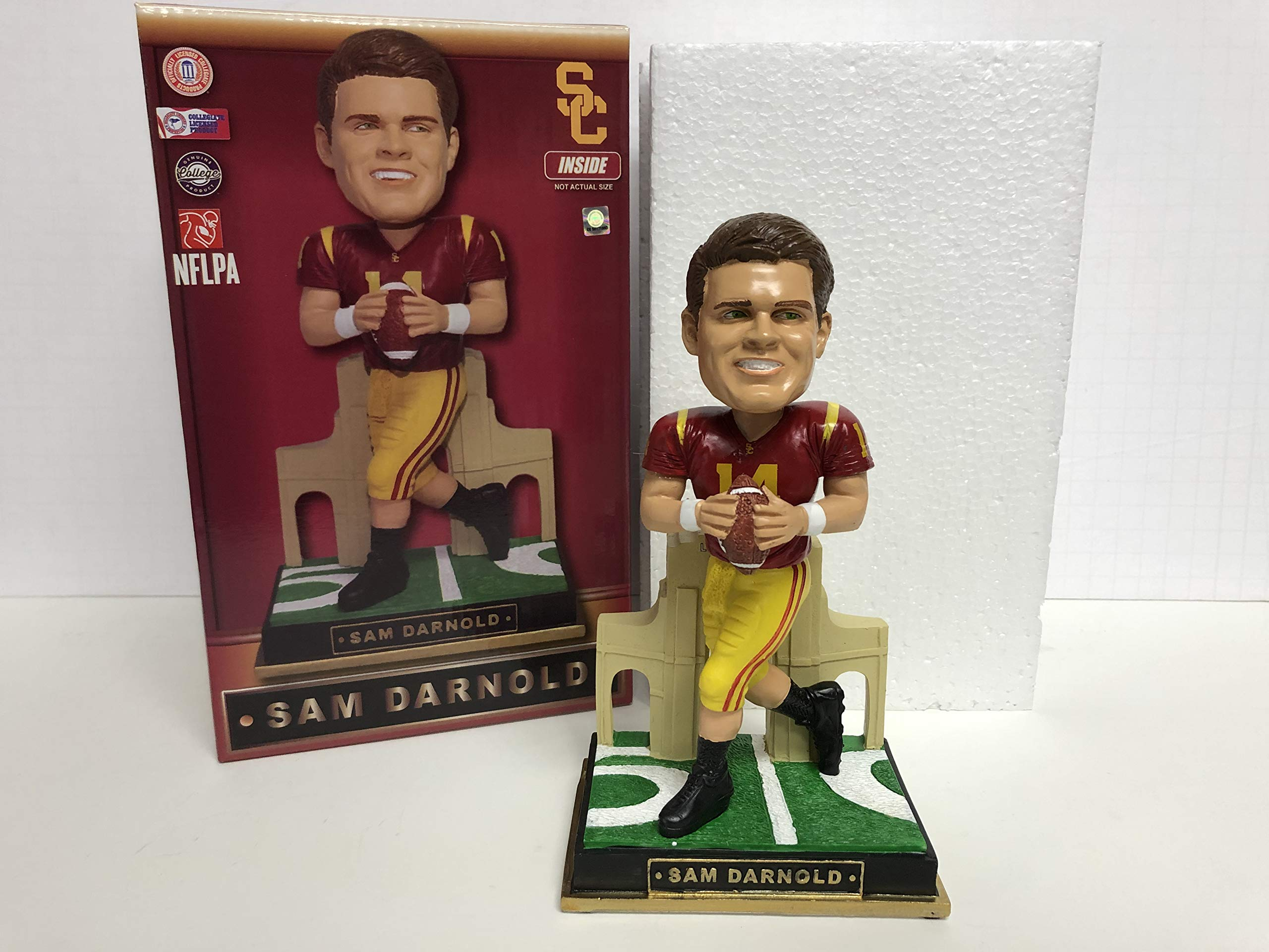 Sam Darnold USC Trojans/current New York Jets Rookie Limited Edition Bobblehead