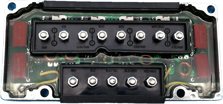 Tuzliufi Replace CDI Switch Box Mercury Outboard 4 Cylinder 30hp 40hp 45hp 50hp 80hp 85hp 100hp 115hp 125hp 1976-1997 Repl. 332-5772A1 332-5772A2 332-5772A3 332-5772A4 332-5772A5 332-5772A7 New Z60