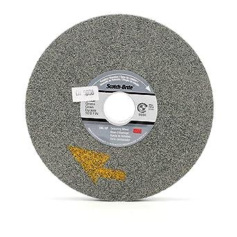 PRICE is per WHEEL Scotch-Brite EXL Deburring Wheel 8 in x 1 in x 3 in 8S FIN