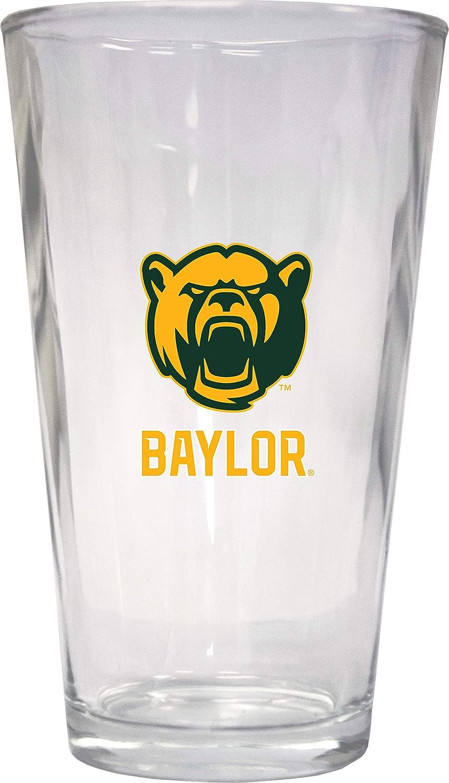Baylor University Bears 16 oz Pint Glass 2-Pack
