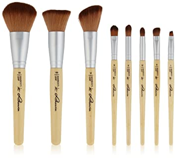 Luvia Cosmetics Make Up Pinsel Set Aus Nachhaltigem Bambus Mit