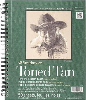 Strathmore Toned Acid Free Paper For Prismacolor Pencils