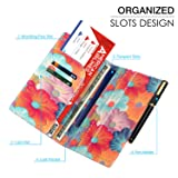 MoKo RFID Blocking Passport Holder Travel Wallet