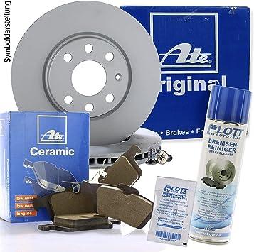 CERAMIC Bremsbeläge Hinten u.a für ATEBremsenset Bremsscheiben