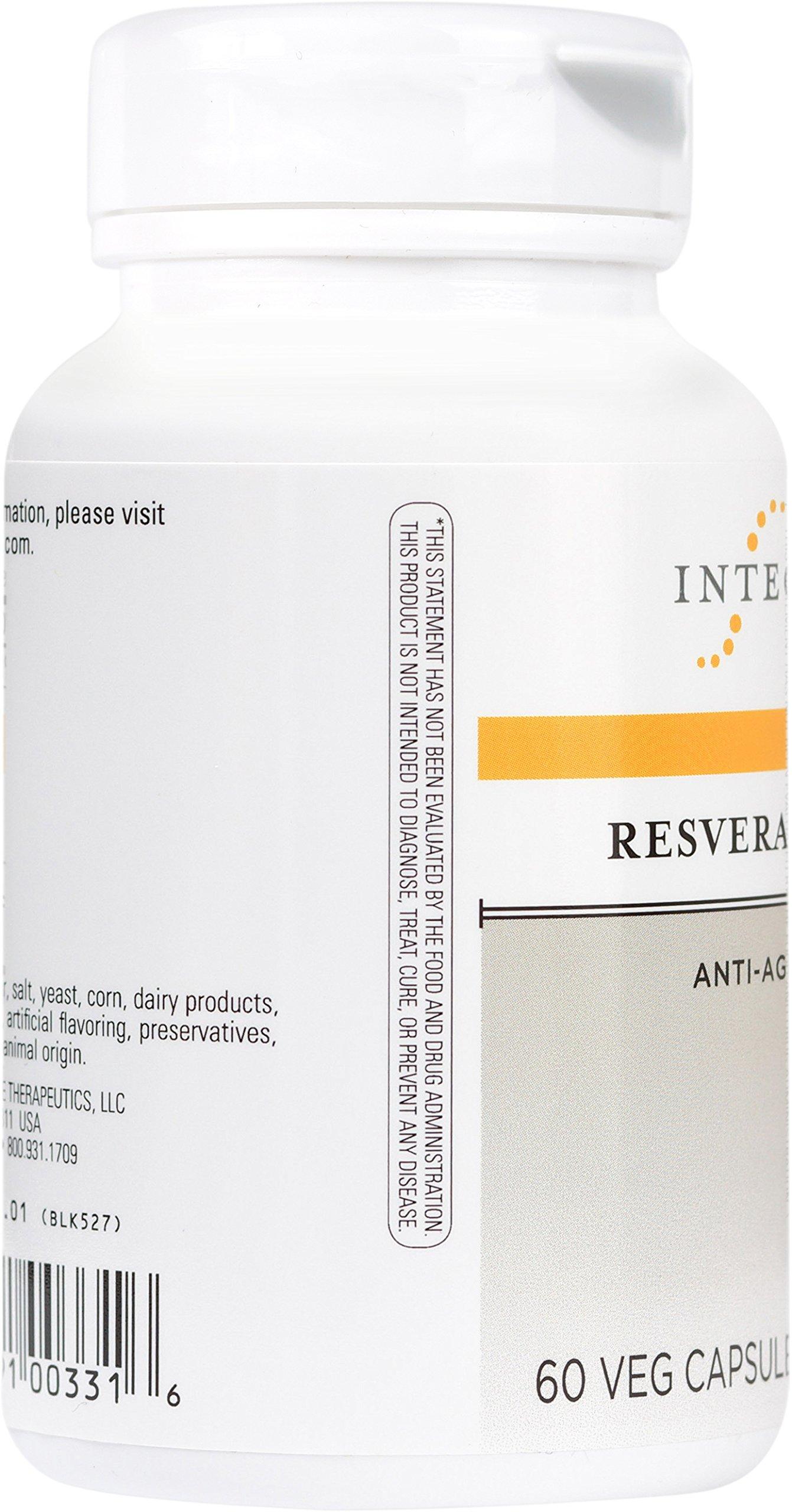 Integrative Therapeutics - Resveratrol Ultra - Anti Aging Formula - Spports Cellular Health to Reduce Oxidative Stress - 60 Capsules by Integrative Therapeutics (Image #4)