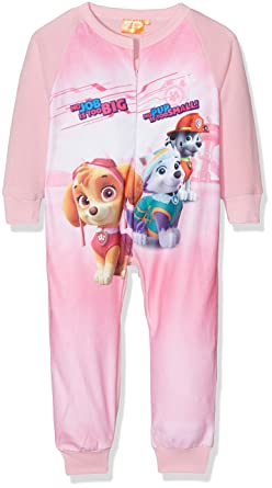 ca0adc789a Pijama Pelele Niña Polar PATRULLA CANINA Rosa (3 AÑOS)  Amazon.es ...