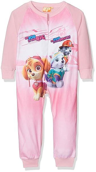 Pijama Pelele Niña Polar PATRULLA CANINA Rosa: Amazon.es: Ropa y accesorios