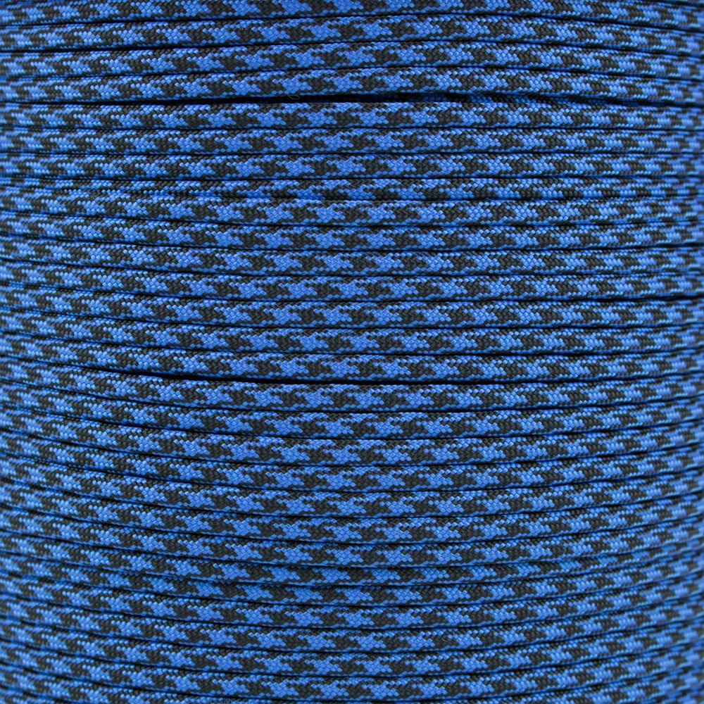 Paracord Planet 10', 25', 50', 100' Hanks & 250', 1000' Spools of Parachute 550 Cord Type III 7 Strand Paracord New Colors (Black Eye, 10 feet)