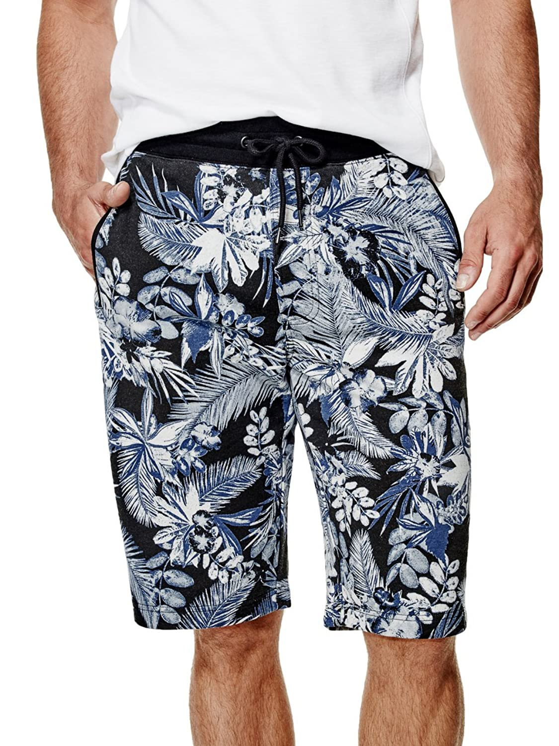 2a59a0c656dc chic G by GUESS Men's Kilth Floral Knit Shorts - stpeters-tollerton ...