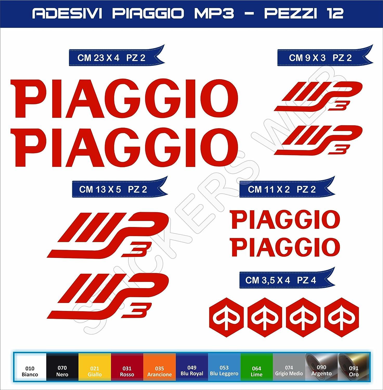 Adh/ésifs stickers pegatina PIAGGIO MP3 moto motorcycle cod 0563