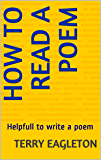 How to Read a Poem: Helpful to Read & write poems
