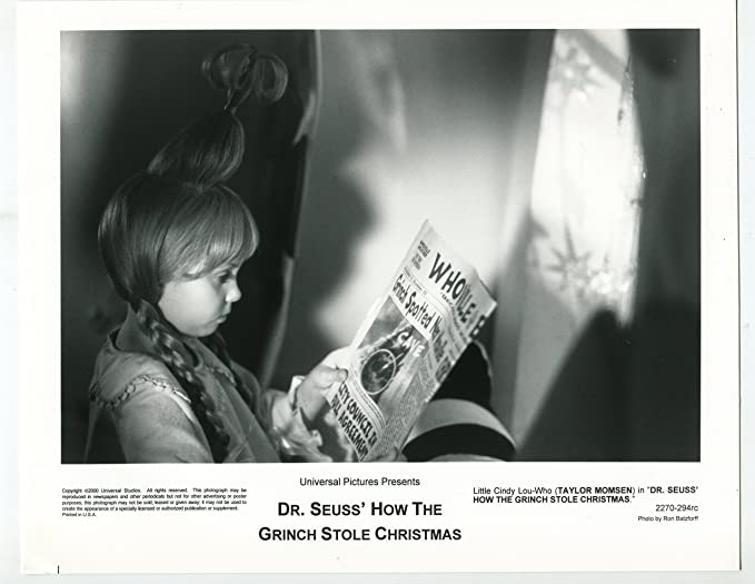 movie photo dr seuss how the grinch stole christmas taylor momsen bw - Taylor Momsen How The Grinch Stole Christmas