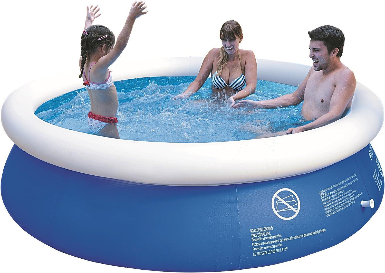 Jilong Prompt Set Pool Marin Blue 240 - Piscina Quick-up 240 x 63 cm