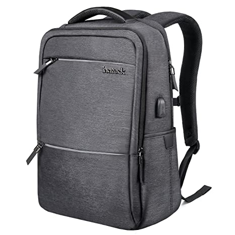 6b0b8d35a008 Amazon.com  Inateck Laptop Backpack with USB Charging Port
